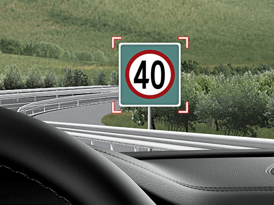 Kia Stinger intelligent speed limit warning